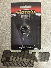 Moto-D Pre drilled oil DRAIN BOLT 2  for safety wire  Moto D Hayabusa SV1000