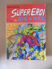 Raccolta SUPEREROI GIGANTE n°8 1984 Edizioni Corno [G486]