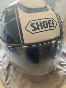 Shoei J-Cruise Open Face Tc-10 Corso Road Helmet with Senu 10U installed