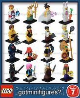 LEGO® SERIES 7 -8831 - COMPLETE SET - minifigures (x16) BRAND NEW!