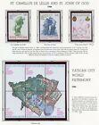 Vatican City 1986 Complet An Ensemble Timbres Nh Menthe Sur Blanc As Album Pages