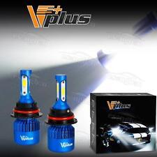 10000LM 9004 HB1 Headlamp Dual Beam Conversion Kit LED Bulb Vplus U Series w/Fan