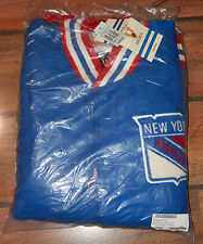 Authentic Mitchell & Ness 1965-66 New York Rangers Royal Wool Button Jacket
