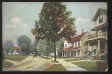 1909 Postcard Defiance Oh/Ohio Holgate Ave Homes Houses