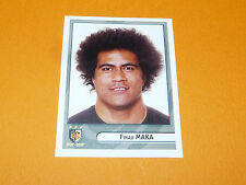 N°391 MAKA STADE TOULOUSAIN TOULOUSE PANINI RUGBY 2007-2008 TOP 14 FRANCE