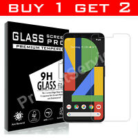 Screen Protector For Google Pixel 4 XL 3a 3a XL Gorilla Tempered Glass TWIN PACK