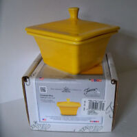 DAFFODIL Store Exclusive Fiesta Square Covered Box, Candy Dish 1st Quality BELK