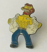 Groundskeeper Willie The Simpsons Authentic Pin Badge Rare Vintage (D8)