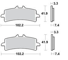 BRAKING 2 CP PASTIGLIE FRENO ANTERIORI P1R930 DUCATI  1098 S TRICOLORE 1100 2007