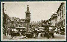Verona Città Mercato Foto cartolina QK7331