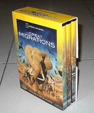 Box 3 Dvd GREAT MIGRATIONS National Geographic Vive solo chi si muove 2011