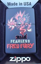 BRAND NEW INSANE CLOWN POSSE FEARLESS FRED FURY BLACK ZIPPO PSYCHOPATHIC