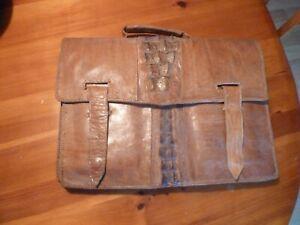 Vintage Full Alligator Briefcase