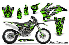 YAMAHA WR250F WR450F 2007-2011 GRAPHICS KIT CREATORX DECALS BTG