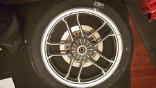 1983 Honda VT500 VT 500 Shadow front wheel rim 18in with disc Dunop tire