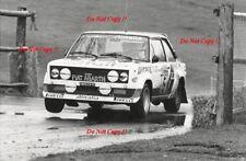 Walter Rohrl ALITALIA FIAT 131 ABARTH RAC Rally 1978 fotografia 3