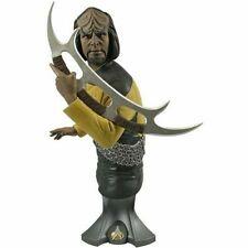 Titan Merchandise Star Trek Lt. Commander Worf Maxi Bust  *New ~ Factory Sealed