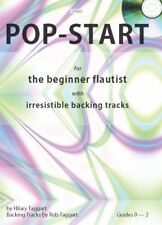 Pop-Start for Flute Hilary Taggart and Rob Taggart Flute Solo, Flute + Cd