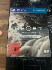 Ghost of Tsushima -- Special Edition mit Steelbook Ps4 NEU ungeöffnet