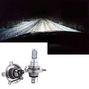 H4 FIT For Suzuki GS550L 9003  CSP LED Headlight Bulbs Hi/Low 6500K