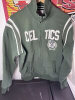 Forty Seven '47 Brand BOSTON CELTICS Zippered (LG) Warm-Up Jacket W/ Patch
