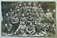 WWI Austro-Hungarian Soldiers Regiment Real Photo Postcard Unposted RPPC 4754