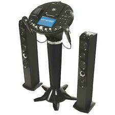 """New listing The Singing Machine Ism-1028N 7"""" Color Lcd Pedestal Cd+G Karaoke System iPod"""