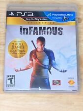 inFamous and infamous 2 Collection Video Game PS3 (Sony PlayStation 3, 2012)
