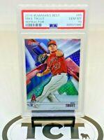 2018 Bowman's Best MLB Baseball Refractor Mike Trout PSA 10 GEM Angels