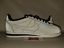huge discount f038f 88adf Nike Classic Cortez BLACK 3M REFLECTIVE WHITE GREY 902801-100 8.5 forrest  gump