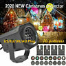 Christmas Projector Light Moving LED Laser Landscape Outdoor Xmas Halloween Lamp
