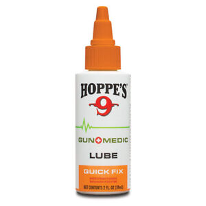 Hoppe's GUN+MEDIC LUBE QUICK FIX GUN LUBRICANT Highly Concentrated Cold/Heat Res