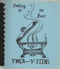 *WICHITA KS 1979 VINTAGE *YWCA Y TEENS COOK BOOK COOKING AT IT'S BEST *KANSAS