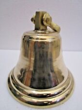 Brass BELL - Brass Made - 5  Kilo - Great Sounding - ship / Boat / Church