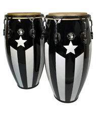 "Professional Series Puerto Rico Black Flag Conga 11-3/4"""