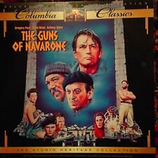 The Guns Of Navarone / Widescreen -  Laserdisc  Buy 6 For Free Shipping