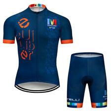 2020 Men's Cycling Jersey Shorts Set Short Sleeve Riding Shirt Short Pants Kit