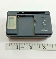 Lcd Universal Battery Charger #Ad-11 for phone, camera, and other batteries