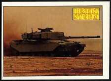 Challenger MBT #100 Desert Storm 1991 Merlin Sticker (C959)