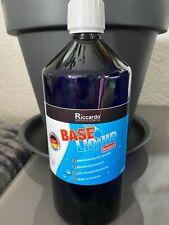 3x Riccardo Base Liquid Balance 50/50 0% 1000ml NEU