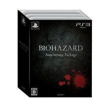 New PS3 Biohazard Anniversary Package Japan import Free Shipping