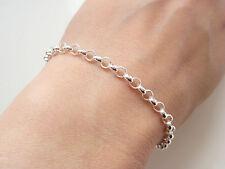 Bracelet porte charm's en argent massif 925/1000e poinçon 21 cm BR01