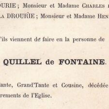 Louise Quillel De Fontaine Madame Leon De Villiers De Hesloup 1879