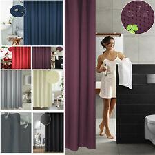Shower Curtain Waterproof Thickening Mildew Curtain Waffle Cloth Bathroom Shower