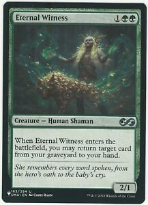 Eternal Witness MYS Mystery Booster EDH NM Magic The Gathering Mtg