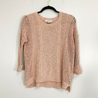 Madewell Marled Plaza Knit Multi Color Sweater Size S