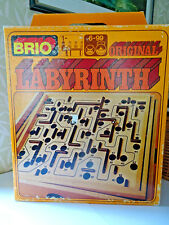 Jeu de labyrinthe en bois