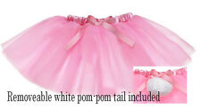 Baby Bunny TuTu Skirt with White Pom Pom Tail by Ganz