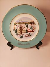 New ListingCollectible Avon Christmas On The Farm Plate 1973 Enoch Wedgwood - England