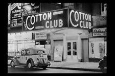 Cotton Club Prohibition Era PHOTO Harlem New York Night Club Theater